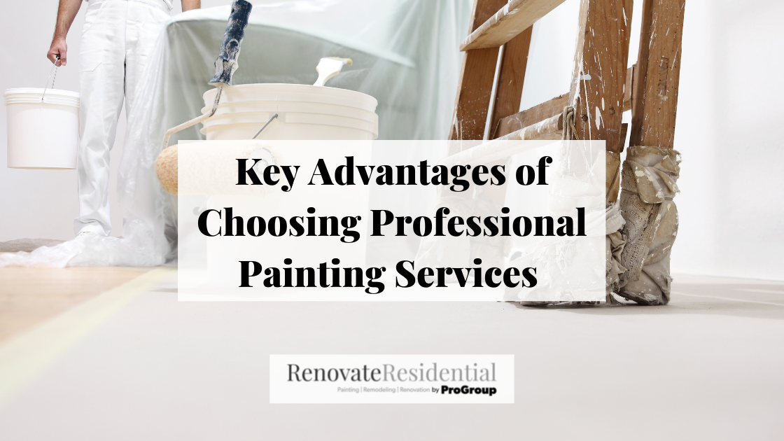 Key Advantages of Choosing Professional Painting Services